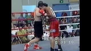 Anton Solopov vs Parkpoom Jangphonak, PABA welterweight title 12th round