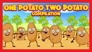 One Potato Two Potato Compilation   English Poems Collection For Kids   Kids Rhymes