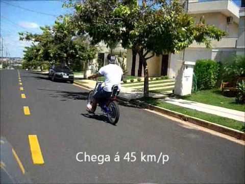 Bicicleta Chopper Eletrica 1000w Bikemoto