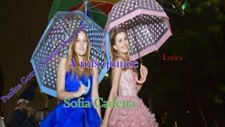 A mis quince - Paulina Goto y Natasha Dupeyron - Letra
