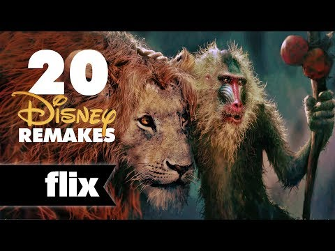 20 Disney Live Action Remakes Announced