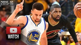 Kyrie Irving vs Stephen Curry Game 7 Duel Highlights 2016 Finals Warriors vs Cavaliers - CRAZY!