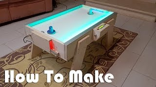 How to make Air Hockey / Soccer table - elettronico a led con ARDUINO