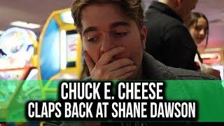 Chuck E. Cheese claps back at Shane Dawson