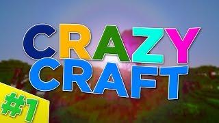 Minecraft : Crazy Craft #1 - Rainbow Cow