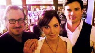 smallville behind the scenes (pilot to finale)