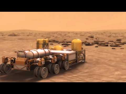 Human Mars Exploration How Landing Sites Could Evolve VIdeo
