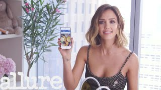 Jessica Alba Shows Us What's In Her Bag