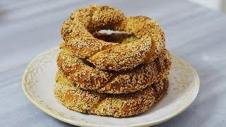 طرز تهیه نان سیمیت ترکیه ای، نان سنتی کشور ترکیه | Turkish Sesame Bagel Recipe Simit