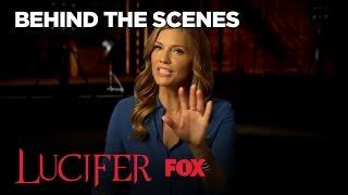 Meet Lucifer's Mom Played By Tricia Helfer | Season 2 | LUCIFER