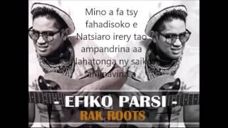rak roots - efiko parsi lyrics (paroles)