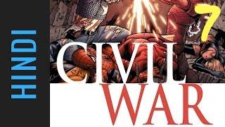Marvel CIVIL WAR   Episode 07   Marvel Comics in Hindi