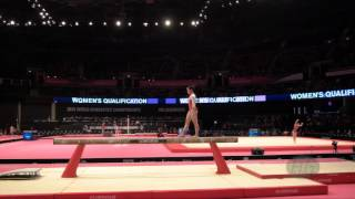LAU Ashly (SIN) - 2015 Artistic Worlds - Qualifications Balance Beam