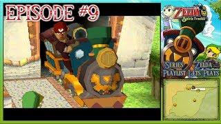 The Legend Of Zelda: Spirit Tracks - Cannons, Stamps, Rabbit Haven & A Snowy Land - Episode 9