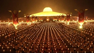 Thailand honors Buddha with Makha Bucha celebrations