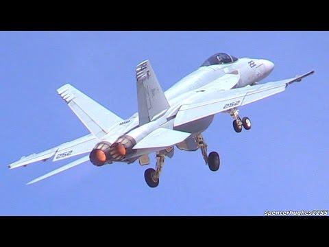 2015 LA County Air Show - F/A-18E Super Hornet (VFA-122) Demo