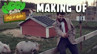 Piggy Tales - Pigs at Work | Making Of - The Field Test