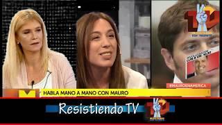 VERONICA CON MAURO COMPLETO 21-07-19  @RcaTv_Ok @KicillofOk @alferdez @Magariovero @CFKArgentina