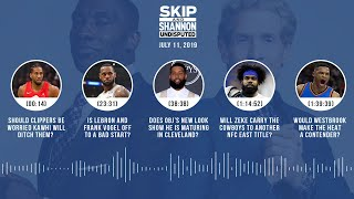 UNDISPUTED Audio Podcast (07.11.19) with Skip Bayless and Shannon Sharpe | UNDISPUTED