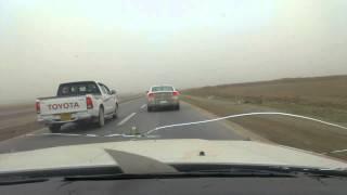 سوبر يطارد دوج طريق أربيل كركوك
