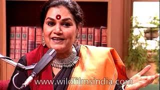 Usha Uthup sings 'Kolkata Kolkata', a Bengali song