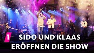 Disstrack - Sido und Klaas eröffnen die Show | 1LIVE Krone 2017