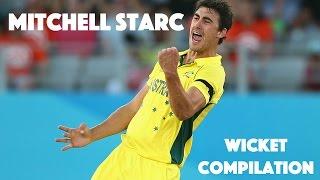 Mitchell Starc // Wicket Compilation