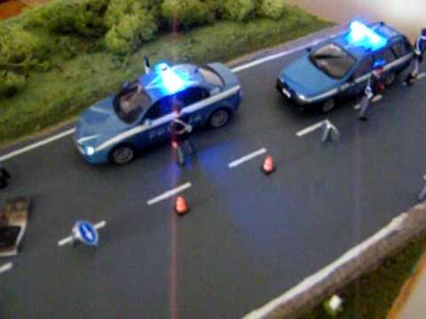 Diorama intervento della polizia dopo assalto furgone portavalori 3 di 3
