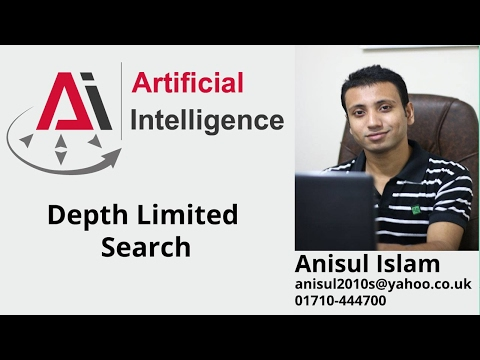 Depth Limited Search English Tutorial