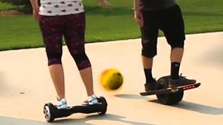 Hoverboard VS One Wheel