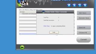 Stellar Audio Video Converter video demo