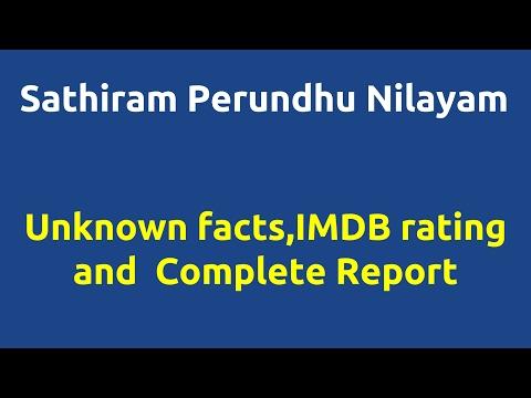 Xxx Mp4 Sathiram Perundhu Nilayam 2013 Movie IMDB Rating Review Complete Report Story Cast 3gp Sex
