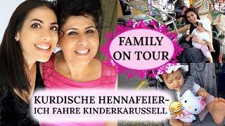 FAMILY ON TOUR I KURDISCHE HENNAFEIER I KIRMESBESUCH - ELANA FÄHRT KARUSSELL I Sevins Wonderland
