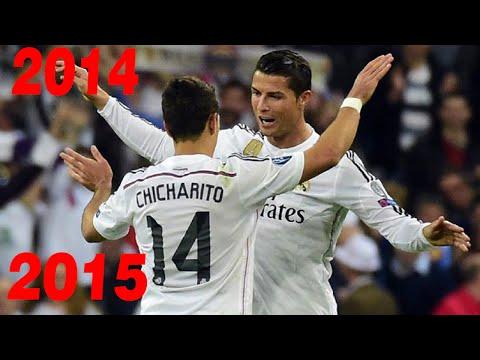 Los 9 goles de Chicharito con el Real Madrid 2014 2015 1080i