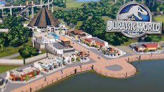 BUILDING JURASSIC WORLD!!! - Jurassic World Evolution FULL PLAYTHROUGH   Ep37HD