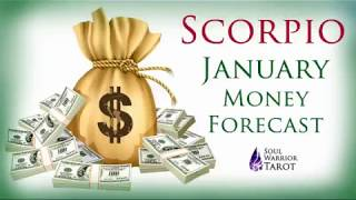 🍀 SCORPIO MONEY CAREER JANUARY FORECAST   Soul Warrior Tarot