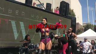 Just Brittany performs for Amber Rose