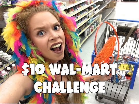 FOLLOW ME AROUND 10 WAL MART CHALLENGE