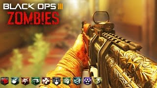 INSANE ZOMBIE HOTEL WITH 10 PERKS! - BLACK OPS 3 CUSTOM ZOMBIES GAMEPLAY! (BO3 MODS)