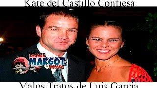 Kate del Castillo Confiesa Malos Tratos de Luis García
