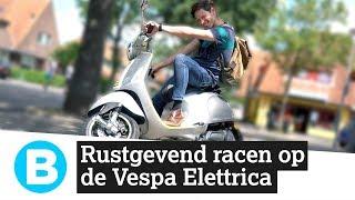 Hoe bevalt de allereerste elektrische Vespa?