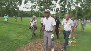 Fans Flock To Ridgewood Country Club To Watch Tiger Woods