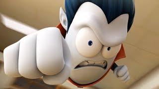 Funny Animated Cartoon | Spookiz The Flying Punch 스푸키즈 | Cartoon for Children