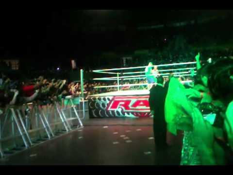 John Cena entrance WWE RAW São Paulo 24 maio 2012