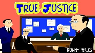 True Justice - Panchatantra Tales in English | Stories For Kids In English | Bedtime Stories