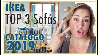 IKEA TOP 3 SOFAS 🏆 CATALOGO 2018-2019. 😍 TIPS COMPRAR EN IKEA. Decoración de interiores.