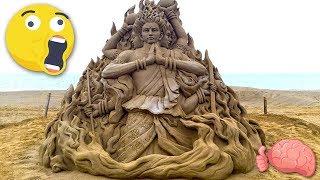 7 Esculturas De ARENA Que Debes VER PARA CREER
