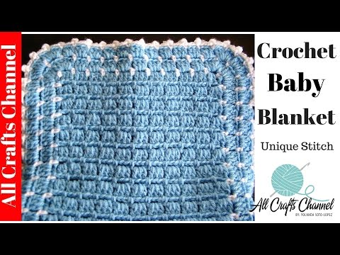 Easy to Crochet Blanket UNIQUE look Yolanda Soto Lopez