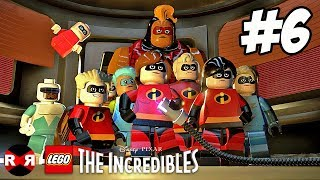 LEGO The Incredibles - SCREENSLAVER SHOWDOWN - PS4 Pro Walkthrough Gameplay Part 6