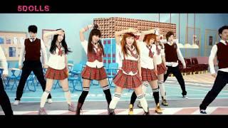 5 Dolls - Like This Like That (MV/HD)